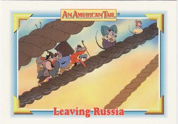 1991 Impel An American Tail Fievel Goes West #107 Leaving Russia Front