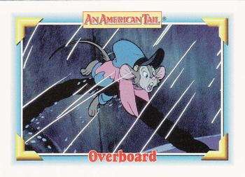 1991 Impel An American Tail Fievel Goes West #110 Overboard Front