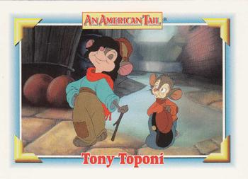 1991 Impel An American Tail Fievel Goes West #117 Tony Toponi Front