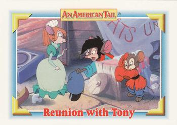 1991 Impel An American Tail Fievel Goes West #120 Reunion with Tony Front