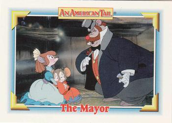1991 Impel An American Tail Fievel Goes West #121 The Mayor Front