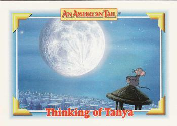 1991 Impel An American Tail Fievel Goes West #122 Thinking of Tanya Front