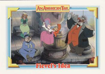 1991 Impel An American Tail Fievel Goes West #124 Fievel's Idea Front