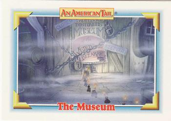 1991 Impel An American Tail Fievel Goes West #125 The Museum Front