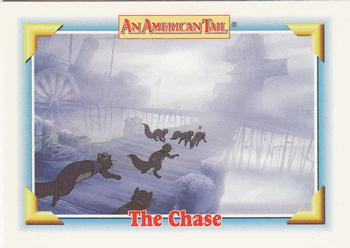 1991 Impel An American Tail Fievel Goes West #129 The Chase Front