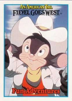 1991 Impel An American Tail Fievel Goes West #146 Be Adventurous But Not Dangerous Front