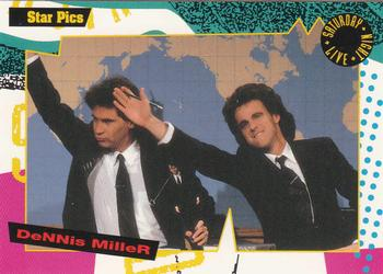 1992 Star Pics Saturday Night Live #129 Dennis Miller Front
