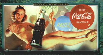 1996 Collect-A-Card Coca-Cola Sign of Taste #60 Dateline: 1954 [Pause] Front