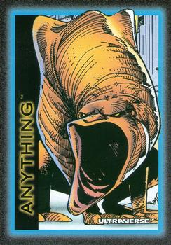 1993 SkyBox Ultraverse #1 Anything Front