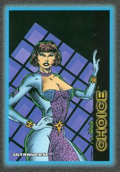 1993 SkyBox Ultraverse #8 Choice Front