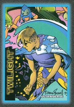 1993 SkyBox Ultraverse #10 Twilight Front