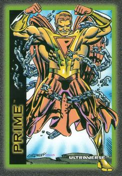 1993 SkyBox Ultraverse #75 Prime Front