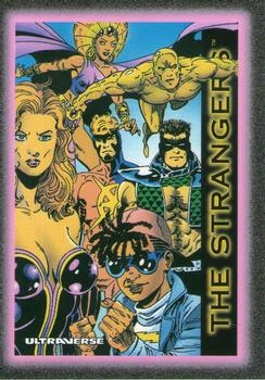 1993 SkyBox Ultraverse #90 The Strangers Front