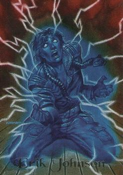 1994 Fleer Ultraverse Master #20 Erik Johnson Front