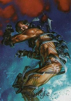 1994 Fleer Ultraverse Master #35 Mangle Front