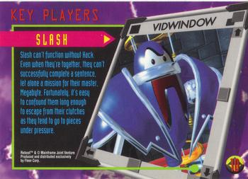 1995 Fleer Reboot #10 Slash Back