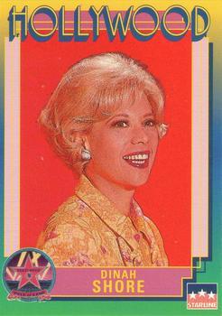 1991 Starline Hollywood Walk of Fame Dinah Shore