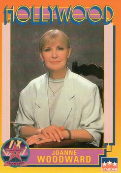 1991 Starline Hollywood Walk Of Fame #76 Joanne Woodward Front