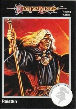 1991 TSR Advanced Dungeons & Dragons - Silver #9 Raistlin Majere Front