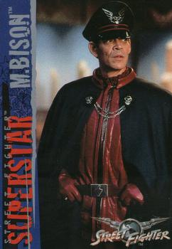 M Bison Street Fighter Movie 1995 Upper Deck...