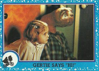 1982 Topps E.T. The Extraterrestrial #20 Gertie Says