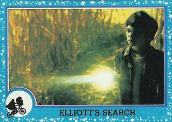 1982 Topps E.T. The Extraterrestrial #5 Elliott's Search Front