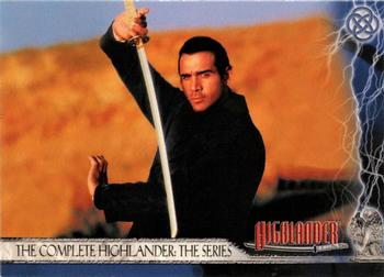 2003 Rittenhouse The Complete Highlander (TV) #1 The Complete Highlander: The Series Front