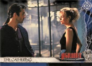 2003 Rittenhouse The Complete Highlander (TV) #3 The Gathering Front