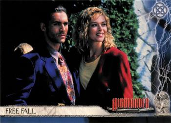 2003 Rittenhouse The Complete Highlander (TV) #7 Free Fall Front
