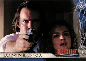 2003 Rittenhouse The Complete Highlander (TV) #8 Bad Day in Building A Front