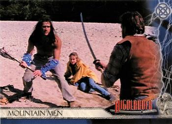 2003 Rittenhouse The Complete Highlander (TV) #9 Mountain Men Front