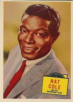 1957 Topps Hit Stars #34 Nat King Cole Front