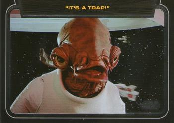 Force Attax Movie Cards 2 8-Amiral Ackbar-Amiral-Alliance