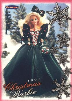 1996 Tempo 36 Years Of Barbie 89 Christmas 1991 1992 Front