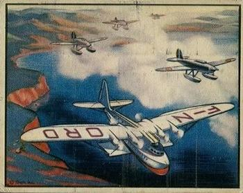 1939 Gum Inc. World In Arms (R173) #Airplanes 13 French Torpedo Planes Escorting Giant Letecoere Front