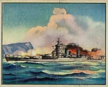 1939 Gum Inc. World In Arms (R173) #Ships 2 French Battleship