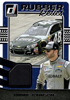 2017 Donruss - Rubber Relics #RR-JJ2 Jimmie Johnson Front