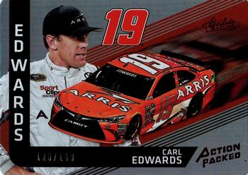 2017 Panini Absolute - Action Packed Spectrum Red #AP13 Carl Edwards Front