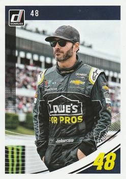2019 Donruss #48 Jimmie Johnson Front