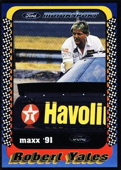 1991 Maxx Ford Motorsport #11 Robert Yates Front
