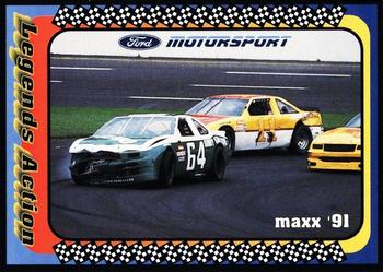1991 Maxx Ford Motorsport #39 Elmo Langley / Cale Yarborough Cars Front