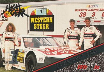 1994 Wheels High Gear - Day One Silver #180 Kelley Earnhardt / Dale Earnhardt Jr. / Kerry Earnhardt Front