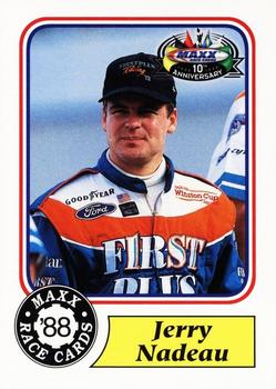 1998 Maxx 10th Anniversary #12 Jerry Nadeau Front