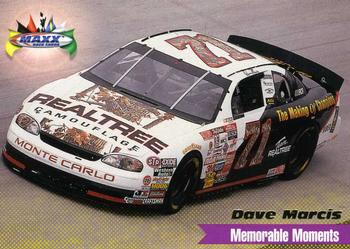 1998 Maxx 1997 Year In Review #60 Dave Marcis Front