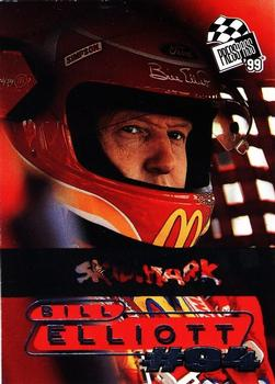 1999 Press Pass - Skidmarks #16 Bill Elliott Front