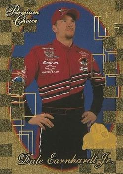 2001 Press Pass Premium In the Zone #IZ2 Dale Earnhardt Jr Racing Card