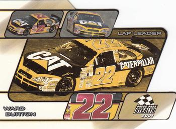 2001 Press Pass Stealth - Lap Leaders #LL27 Ward Burton's Car Front