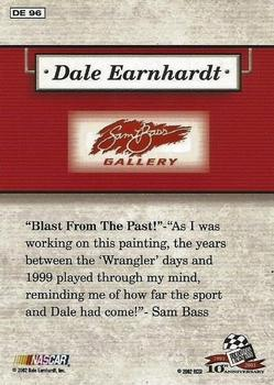 2003 Press Pass - Dale Earnhardt Sam Bass Gallery #DE96 Dale Earnhardt Back