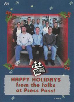 2003 Press Pass - Santa Claus #S1 Santa Claus Back