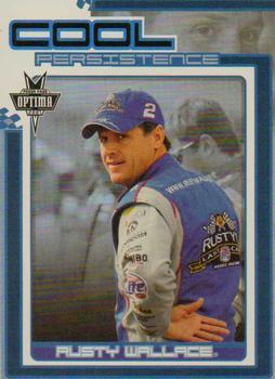 Auto Racing Cards 2005 Press Pass Optima Cool Persistence #cp5 Rusty Wallace Racing Card Sports Mem, Cards & Fan Shop